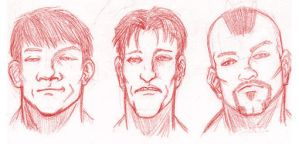 Tough Guy Lineup by BrianManning
