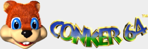Conker 64 Logo Graphic by ConkerGuru