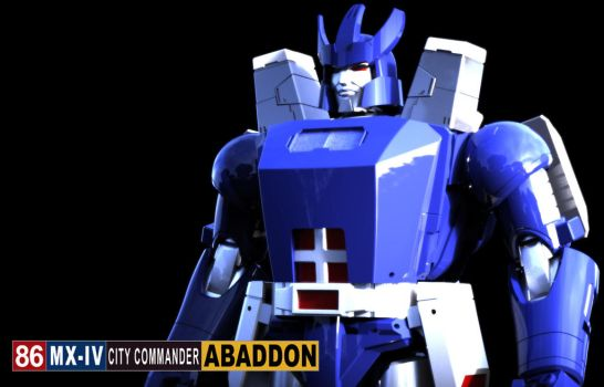 X-Transbots: Abaddon by 539Designs