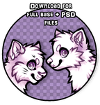 Bases with layers 20 points! (Feline and Canine) by dexikon