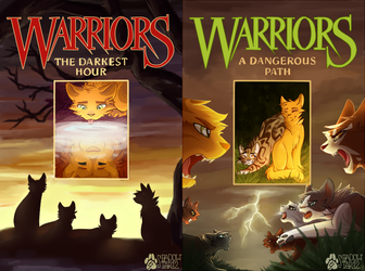 Redrawn Warriors Covers 5-6 by shadowily