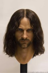 Aragorn Silicone bust by artyandy