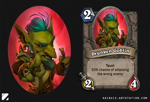 Drunken Goblin by kairuiz
