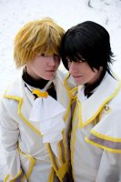 Oz and Gil Cosplay by Roku-chan