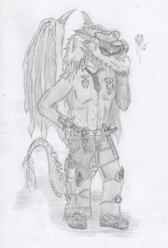 Defenser of the law by DraGoniS59