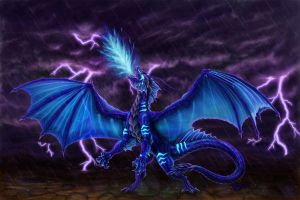 Syrask, dragoness of Doom XD by Luarcis