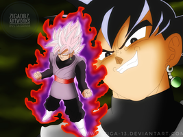 Goku Black by Ziga-13