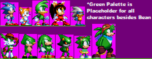 Saturn Sonic Sprites by Smite-the-Pangolin
