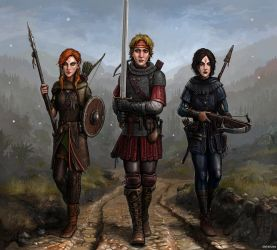 Gritty Girls by SirTiefling