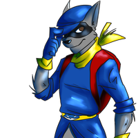 Actual Sly Cooper by TheDexterminator