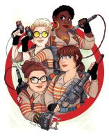 Ghostbusters by msciuto