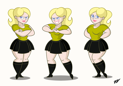 Vanessa  Poses by Frederick-Art