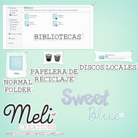 Sweet Blue by MeliCreations