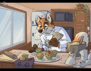[Commission] Cooking ! by x-Mlice