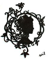 Delicate Silhouette by honeymil