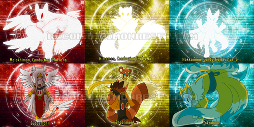 [digimon re:CON] Ultimate evolutions [pt 2] by glitchgoat