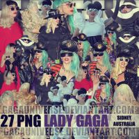 Lady Gaga Pack Png 23 by gagauniverse