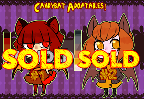 Candybats - ADOPTABLES - [CLOSED] by ClawCraps