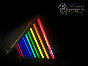 rainbow lights by chisoscries