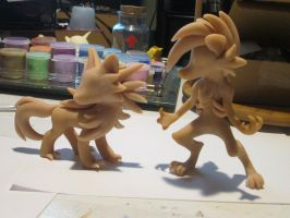 Week of WIP's #3: Lycanroc Midday and Midnight!