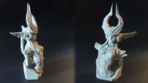 Syndra Sculpture by Eli-riv