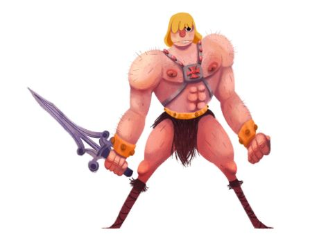 He-Man by caiobuca