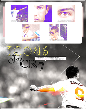 CR7 Icons by victoricaDES