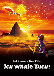 German Pokemon Movie 20 Poster - The fixed Version by Starfighter-Suicune