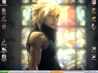 Advent Children Wallpaper by Ryonee