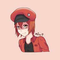 Red Blood Cell Portrait by Minosura