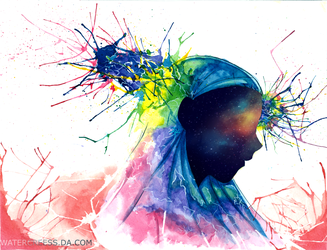 Old watercolors New artistic approach by Ark-illustrates