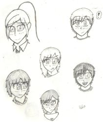 Expressions practice (ft. Miriam and the Crew) by MafiPaint