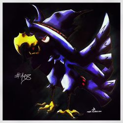Pokemon of the Week - Murkrow by Noyle