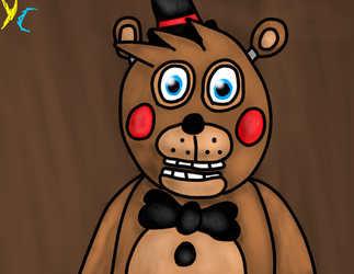 Toy Freddy art by YasminCarvanha