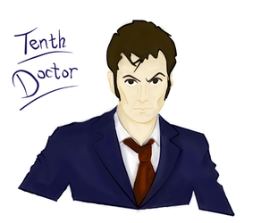 Tenth Doctor by alfaiero