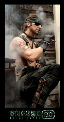 Metal Gear - Naked Snake and a Brother's Tattoo 2 by RBF-productions-NL