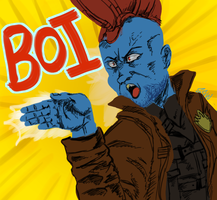 Yondu at his best by Soping123