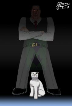 My Ultimate Ernst Stavro Blofeld by celaya4ever