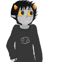 Karkat, you've got red on you by raiinbowHyperdrive