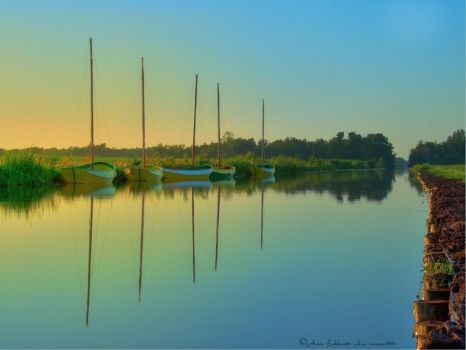Boats HDR by annzie1991