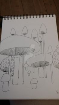 More mushrooms by Sax93