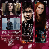 Photopack: Harry Potter and the Deathly Hallows Pa by JenniferBomerGrey