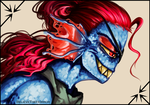 Undyne the Undying by BelieveTheHorror