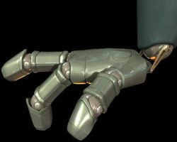 My Big Robot's Hand by pro2004