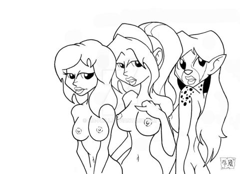 80s Cartoon Babes by MR-PHiLL