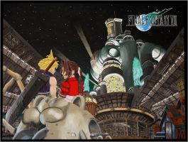 A Tribute to Final Fantasy VII. by SnowCloud89