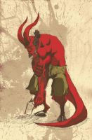 HellBoy by birdieturd