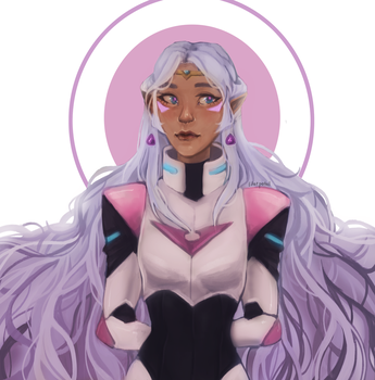 voltron allura by Lilac-Patal