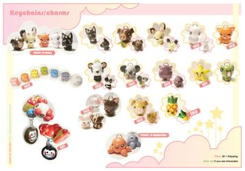 :: CUTE KEYCHAINS-CHARMS:: 2 by AllendisI