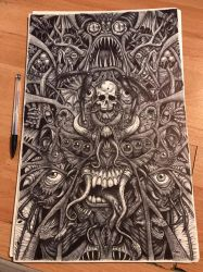 Biro Horror by AnatomicalBomb